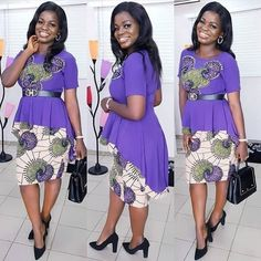 Eye-popping Ankara Shirt & Blouse styles for women fashion. Beautiful women amaze in Ankara Brim & Blouse with aforementioned patterns of design African Shirts, African Print Dresses, African Print Fashion, African Fashion Dresses, African Dress, Ankara Fashion, African Men, Ankara Styles For Men, Ankara Gown Styles