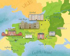 Jane Austen map!
