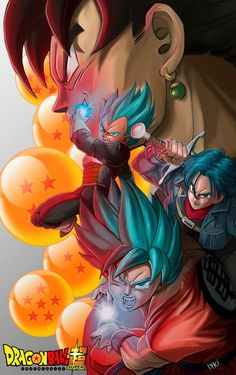 Dragon ball super by IKKITOUCH on DeviantArt - Visit now for 3D Dragon Ball Z shirts now on sale!