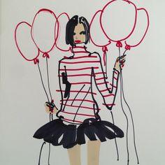 Donald 'Drawbertson' Roberston  #fashionillustration #artluxedesigns #birthday