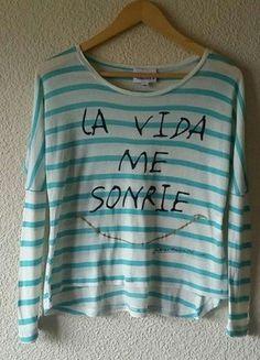 Compra mi artículo en #vinted http://www.vinted.es/ropa-de-mujer/camisetas/701813-camiseta-a-rayas