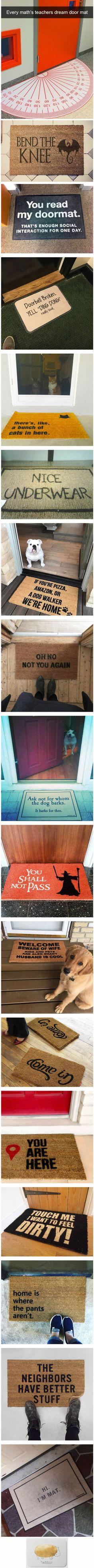 15 Awesome Doormats That Will Make You Look Twice