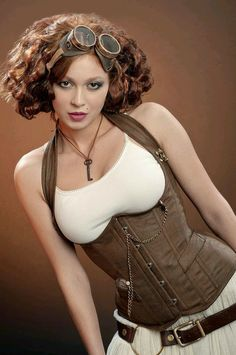 Lady Burlesque - Steampunk girl - Community - Google+ Dieselpunk cdc4d72b796