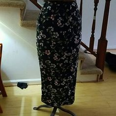 Pencil skirt Cotton skirt with floral design Skirts Pencil
