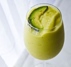 Meet the Piña-Vocado. Avocado Smoothies!