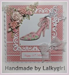 30th birthdy card for a shoe fan