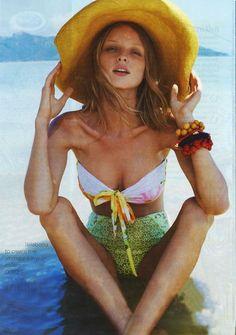 Lily Cole #destinationsummer #floppyhats