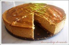 hriešne sladký blog: Karamelový Cheesecake