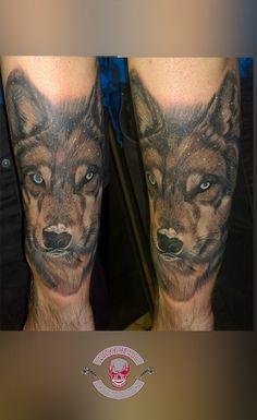 #wolf #wolfimschnee #wolfinthesnow #wolftattoo #tattoo #ink #tattooitzehoe #itzehoe #luckyheadstattoo Head Tattoos, Tattoo Ink, Watercolor Tattoo, Wolf, Portrait, Headshot Photography, Wolves, Portrait Paintings, Drawings