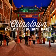 WE RATED EVERY RESTAURANT IN CHINATOWN
