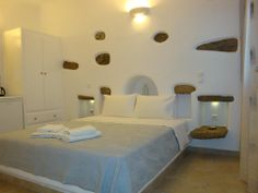 Traditional apartments in Mykonos Greece