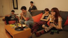Última sesión de rodaje de Space Men :( Couch, Space, Men, Furniture, Home Decor, Rock Bands, Floor Space, Settee, Sofa