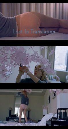 """Scarlett Johansson """"Lost in Translation"""" de Sofia Coppola, 2004."""