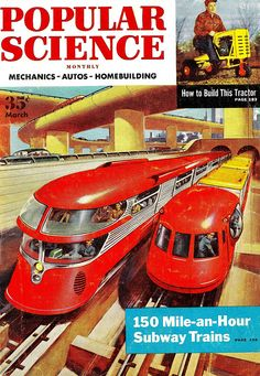 Popular Science, March 1954.