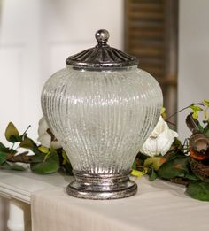 This illuminated urn will compliment any decor.  H204772  http://qvc.co/-Shop-ValerieParrHill