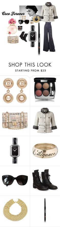 """coco 4ever"" by michelle858 ❤ liked on Polyvore featuring Chanel"