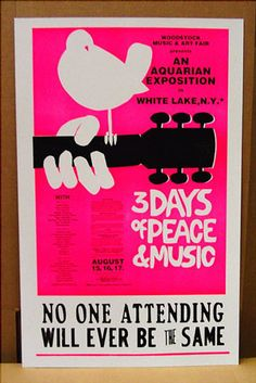 Celebrating Woodstock in Salt Lake Woodstock Poster, Woodstock Concert, Woodstock Hippies, Woodstock Music, Give Peace A Chance, Concert Posters, Music Posters, Illustrations, Hippie Chic