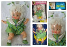 Rare Little HONEY MOON Doll Dick Tracey's  #dicktracey #honeymoon #honeymoondoll…