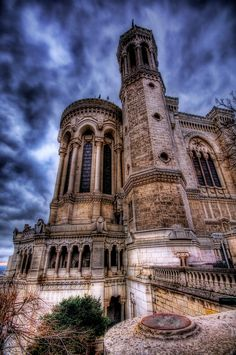 Is there anything cooler than the old architecture throughout Europe? I say there is not. - Lyon, France - Photo from #treyratcliff Trey Ratcliff at http://www.StuckInCustoms.com