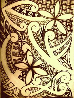Polynesian Tribal by ~tpetelo on deviantART I would so love to have this as a quarter sleeve!