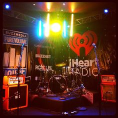 The stage for iHeartRadio Live: After Hours at The Buzzmedia Purevolume House presented by iHeartRadio #SXSW
