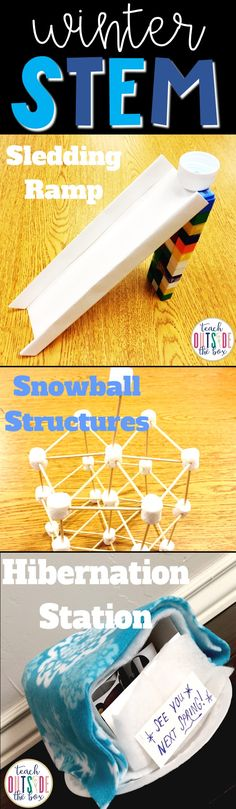 LOW PREP Winter themed STEM Challenges | January STEM Activities | Elementary STEM Activities | Kindergarten, first grade, second grade, third grade, fourth grade, fifth grade