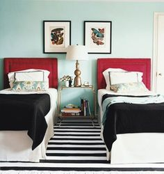 Paired Twin Beds   Apartment Therapy