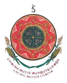 Escudo del Pueblo Nación Muisca Chibcha. https://es.wikipedia.org/wiki/Muiscas