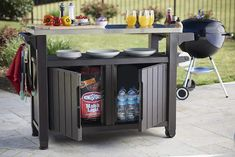 Best place to buy Cambron Caster Bar Serving Cart by Andover Mills Patio Dining, Outdoor Dining, Indoor Outdoor, Outdoor Stuff, Outdoor Buffet, Outdoor Decor, Outdoor Lounge, Outdoor Ideas, Outdoor Tables