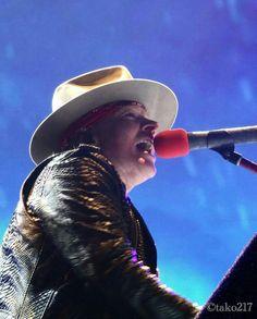 Axl Rose - Guns N' Roses at T-Mobile Arena Las Vegas (8,9 Apr 2016)