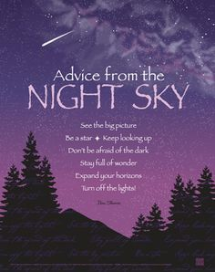 12 Best Night Sky Quotes Images Thoughts Thinking About You Messages