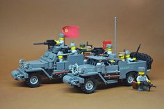 Soviet armor forged in the Arsenal of Democracy Lego Soldiers, Lego Ww2, Lego Army, Lego Track, Amazing Lego Creations, Vintage Lego, Military Diorama, Build Something, Cute Horses