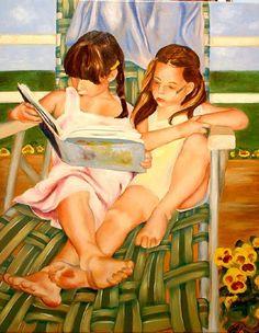 Na cadeira verde, 2007 Gabriela Merediz (EUA, contemporânea) óleo sobre tela