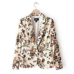MPK™ Women's Fashion Print Coat(Pattern Location randomly) – USD $ 23.39