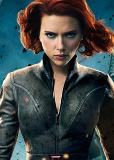 Personagem Inspirador: Natasha Romanoff/Viúva Negra - Os Vingadores (2012).