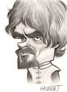 Peter Dinklage Caricature