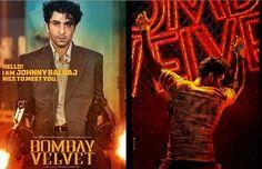 Bombay Velvet poster, Firstlook, Story
