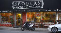 Minneapolis, MN - TRIPLE D - Broders' Cucina Italiana -- 2308 W 50th St -- 612-925-3113 ~~ tender fettuccine alla Bolognese and the thin-crust Dynamite pizza with prosciutto, mozzarella and arugula. ALSO - Broders Pasta Bar  - 5000 Penn Ave S - 612-925-9202
