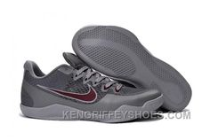 """Buy Nike Kobe 11 """"Aces"""" Cool Grey/Team Red-Wolf Grey 2016 Online from Reliable Nike Kobe 11 """"Aces"""" Cool Grey/Team Red-Wolf Grey 2016 Online suppliers.Find Quality Nike Kobe 11 """"Aces"""" Cool Grey/Team Red-Wolf Grey 2016 Online and preferably on Footlocker. Jordan Shoes For Sale, Michael Jordan Shoes, Air Jordan Shoes, Kobe Shoes, New Jordans Shoes, Pumas Shoes, Adidas Shoes, Shoes Uk, Converse Shoes"""