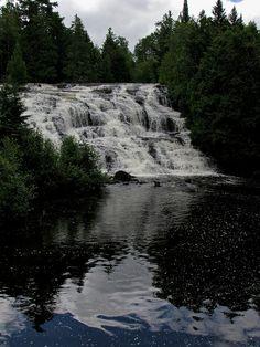 Bond Falls in Michigan
