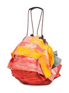 Issey Miyake folded handbag