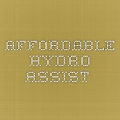 Affordable hydro-assist