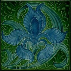 Pilkington c1905 - Art Nouveau Tiles