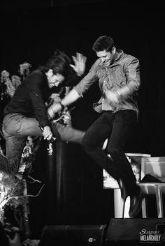 Jared Padalecki and Jensen Ackles, Sunday, Salute to Supernatural Vancouver 2015