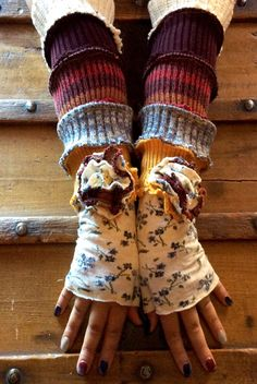 Gloves Archives - Cross Thrift Leg Warmers, Fingerless Gloves, Thrifting, New Look, Upcycle, How To Wear, Accessories, Ideas, Leg Warmers Outfit