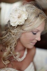 Hair piece for wedding
