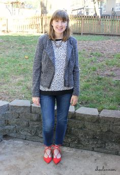 Shea Lennon: Leopard Layers for Fall: Work to Weekend
