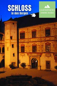 Alles Informationen für deinen Besuch im #Schloss #Tratzberg ✔️ aus erster Hand von einem Local ✔️ Tipps & viele Bilder vom #karwendel ✔️ #Ausflug in #Tirol ✔️ bemerkenswerte #ausflugsziele in #österreich