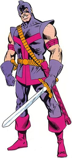 Swordsman - Marvel Comics - Avengers - Jacques Duquesne