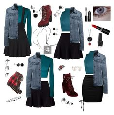 """""""Mix & Match ~ Teal Ordeal"""" by valaquenta ❤ liked on Polyvore featuring Miss Selfridge, Sans Souci, WearAll, Lands' End, Smashbox, SOREL, Nine West, Catherine Catherine Malandrino, Bobbi Brown Cosmetics and Bling Jewelry"""